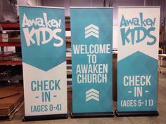 Get an entry banner set up... Have kids write their name up there or handprint and add to it as we get some newbies.