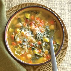 The variety of the vegetables, two kinds of legumes, and the Italian trick of cooking a bit of parmesan rind in the soup for added flavor...