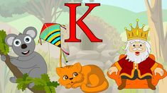 Learn About The Letter K - Preschool Activity