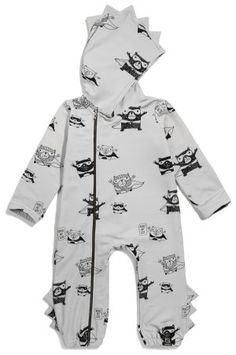 Kukukid Superhero Romper available for international delivery from online kids store www.alittlebitofcheek.com.au