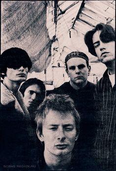 Radiohead, Oxford, October 1992 - By A.J. Barratt