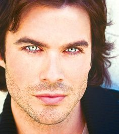 Ian...Sometimes you just want to stare into a man's eyes. :)
