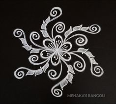 Easy And Beautiful Rangoli Design Rangoli Designs Latest, Rangoli Designs Flower, Rangoli Border Designs, Rangoli Designs With Dots, Rangoli Designs Images, Rangoli Designs Diwali, Diwali Rangoli, Beautiful Rangoli Designs, Mehndi Designs