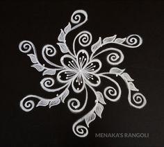 Easy And Beautiful Rangoli Design Rangoli Designs Latest, Rangoli Designs Flower, Rangoli Border Designs, Rangoli Designs Diwali, Rangoli Designs With Dots, Rangoli Designs Images, Beautiful Rangoli Designs, Mehndi Designs, Simple Rangoli Kolam