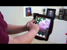 """Our newest tester, Edward, gives an iPad a toss in this episode of """"Tough Tests"""". Our Kraken case proves that it is indeed """"kid-proof""""."""