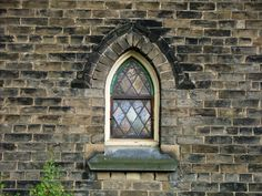 Pointed arch window