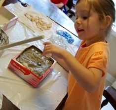 Stepping Stones Garden Craft-    Use quick dry cement and an empty cereal box for a mold. The kids can decorate with glass gems and sea shells.
