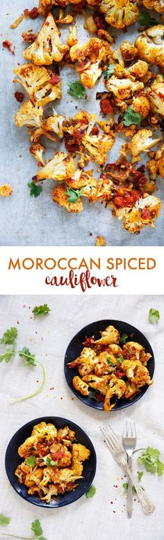 Spiced Roasted Cauliflower - Lexi's Clean Kitchen