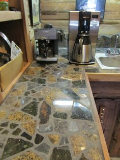 created with free scrap granite...by The Phoenix Commotion