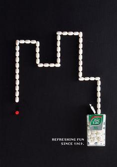 Tic Tac: Snake Refreshing fun since 1969. Advertising School: Miami Ad School | ESPM, São Paulo, Brazil Art Directors: Gabriel Lugarinho, Ian Hartz, Lívia Amorim Released: 2014