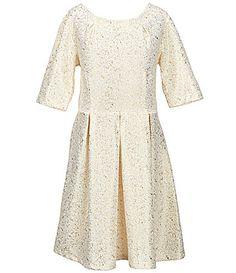 Copper Key Big Girls 716 FoilDotted Skater Dress #Dillards