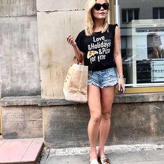 Ania+Ryłko+PLNY LALA @whatannawears #rylko #rylkoshoes #rylkoobuwie #flats #slides #leathershoes #summervibes #summershoes #summercollection #comfy #stylish #polishbrand #shoponline