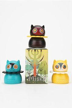 Kidrobot Misko Mini Wood Figure
