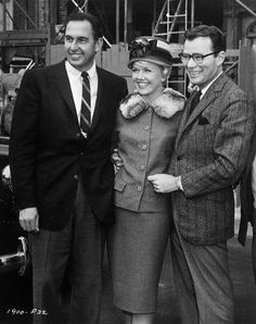 Martin Melcher, wife Doris Day and Producer Ross Hunter - Midnight Lace