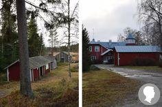 Historisk plats: Granösunds fiskeläge och Villa Bullerås, Korsholm