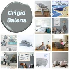 grigio_balena Kids Bedroom, Baby Boy, Nursery, Rami, 3, Bedrooms, Houses, Spool Knitting, Children
