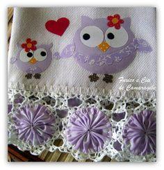 ~ Yo-Yo & Crocheted Trim ~
