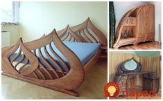 Piotr Wojtanowski je šikovný poľský stolár, ktorý z rôznych druhov dreva vytvára doslova umelecké kúsky. Jeho nábytok je detailne premyslený a zhotovený tak, že každý kúsok je absolútne unikátny a jedinečný. Vďaka obľúbeným motívom kvetov,