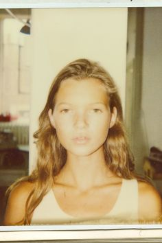 This Polaroid Of A Baby Kate Moss is Everything