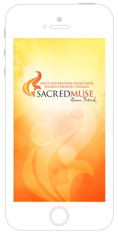 The SacredMuse App - on your Phone! http://www.ronnadetrick.com/the-sacred-muse-app