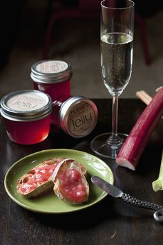 Rhubarb-Prosecco Jelly - yes, you read that correctly...