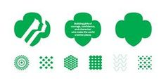 Girl Scouts brand patterns and icons