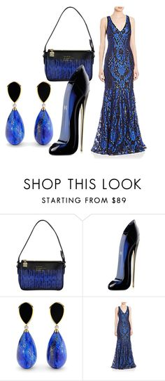 """""""Untitled #456"""" by kame-i ❤ liked on Polyvore featuring L.A.M.B., Carolina Herrera and David Meister"""