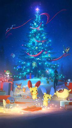 Pokemon GO - Holiday event wallpaper