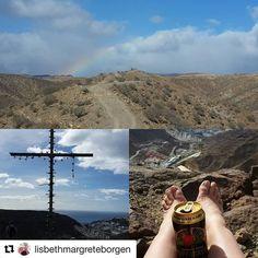 Kanariøyene er ikke bare sol og bad. Det er også fotturer på fjell. #reiseblogger #reiseliv #reisetips #reiseråd  #Repost @lisbethmargreteborgen (@get_repost)  Hiking in the Mountains