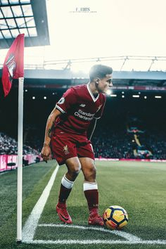 football is my aesthetic: Photo Football Icon, Best Football Team, World Football, Football Pictures, Liverpool Football Club, Liverpool Fc, Coutinho Wallpaper, Soccer Baby, Sport T Shirt