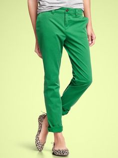 My favorite pants now come in Spring Green!