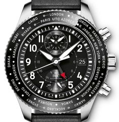 IWC Pilot's Watch Timezoner Chronograph Watch Releases