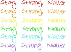 """""""Stay Strong, Nialler."""" by leklink on Polyvore"""