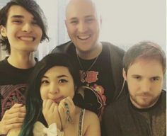 Youtubers:  The Anime Man, akidearest, Misty Chronexia, and Lost Pause at Anime Expo 2016.