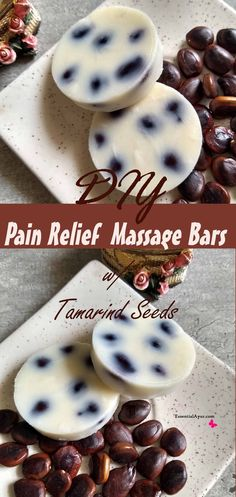 A common use for this massage bar is to treat knee pain, back pain, and other join pain. This easy DIY pain relife massage bar features with tamarind seed, which incredibly help in relieve pain. This Massage bars are natural substitute of massage oils. Home Health Remedies, Herbal Remedies, Holistic Remedies, Natural Medicine, Herbal Medicine, Healthy Foods To Eat, How To Stay Healthy, Healthy Skin, Eating Organic