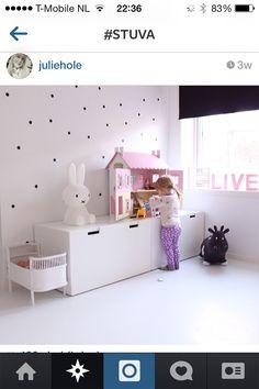 Super cute (kamer Saar) Miffy Lamp, Ikea Stuva, Ikea Inspiration, Kids Lamps, Kids Bunk Beds, Little Girl Rooms, Kid Spaces, Girls Bedroom, Fashion Room