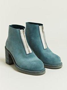 Cherevichkiotvichki Women's Bark Dyed Heeled Boots | LN-CC
