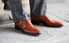 Barker monk shoes: Barker Lancaster