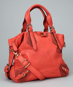 Take a look at this Coral Tote on zulily today!