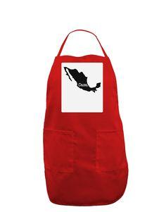 TooLoud Mexico - Casa - Cinco De Mayo Panel Dark Adult Apron