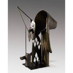 Julio González ~ Harlekijn ~ 1927-1930 ~ Smeedijzer ~ 43 x 30 x 30 cm. ~ Privécollectie