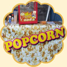 Popcornmaschine zum Verleih für Events Popcorn Maker, Cereal, Events, Breakfast, Food, Renting, Morning Coffee, Meals, Corn Flakes