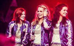Ook in hun vrije tijd gaan de meisjes van K3 samen op stap (Flair.be)