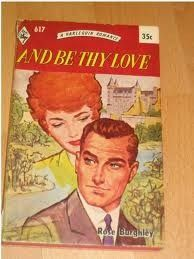 Vintage romance. I just love these old harlequin and mills and boon covers.