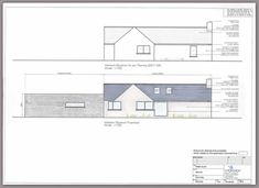 Here is an overview of our Design, Plan & Build Projects House Plans, Floor Plans, Construction, Cottage Ideas, Bungalows, How To Plan, Building, Irish, Projects