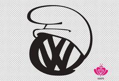 VW Volkswagen Smurf hat sticker by vinylgem on Etsy