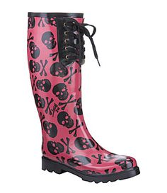 Never thought that I would want rain boots but these are fun.