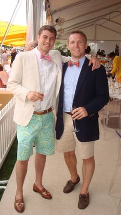shorts and loafers with jacket and bow tie