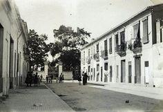 La Valencia desaparecida: Calle Don Vicente Gallart hacia la calle Serrería...