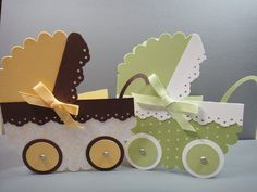 Stampin' Up (SU) Card - Baby Carriage